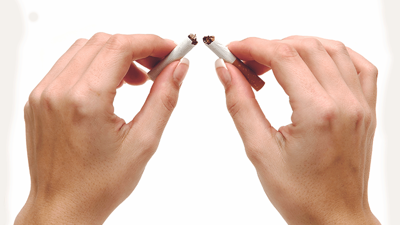Smoking after breast reduction